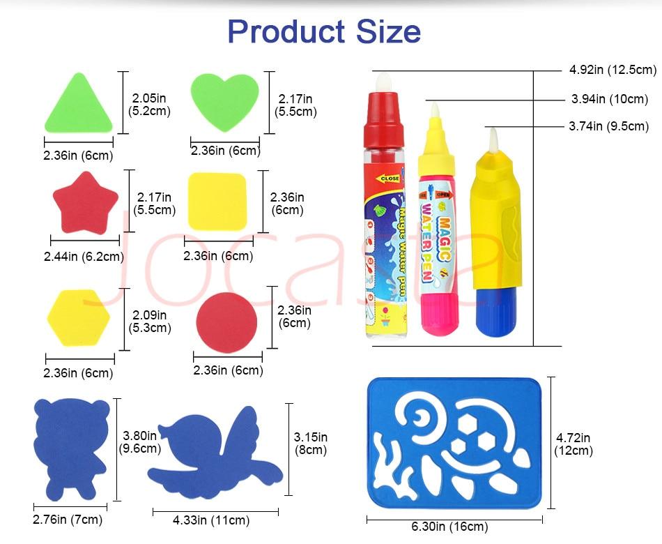 150x100cm com 4 pces doodle-canetas selo ferramentas