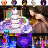 10LED RGB LED Underwater Light Pond Submersible IP67 Waterproof Swimming Pool Light Battery Operated For Wedding Party promo