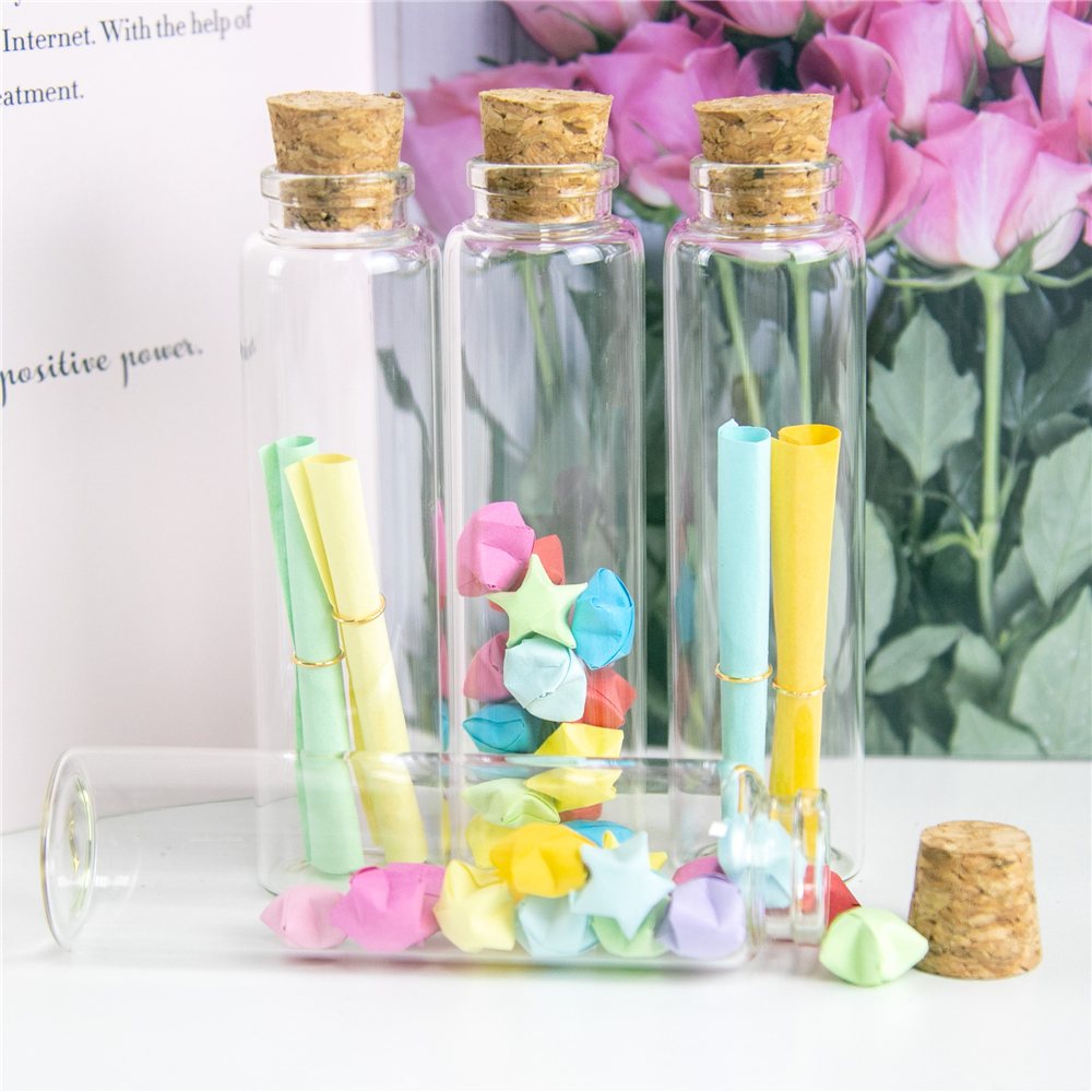 50pcs Diy Glass Bottles With Cork Crafts Wedding Empty Storage Jar Bottle 55ml Liquid Pill Powder Jewellery Ornament Bottles Aliexpress