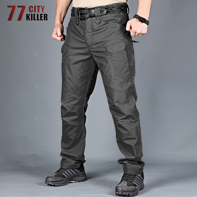 77City Killer Military City Tactical Pants Men 5XL 6XL Combat Waterproof Cargo Mens Pants Breathable SWAT Camouflage Trousers 4