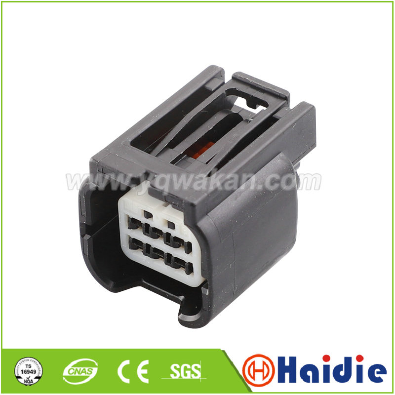 Free Shipping 2sets 6pin Auto Electric Male Plug Wire Harness Waterproof Connector 7283-2764-30