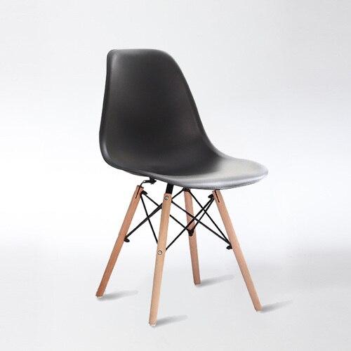 Скандинавские стулья для столовой, простые современные складные маленькие квартиры, ленивые домашние столы, задние пластиковые компьютерные кресла - Цвет: 2