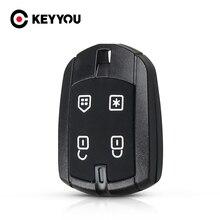 KEYYOU 20x לברזיל פוזיטרונים אזעקה שלט רחוק מפתח כיסוי מקרה חלקי רכב חדש החלפת רכב מפתח פגז 4 כפתור