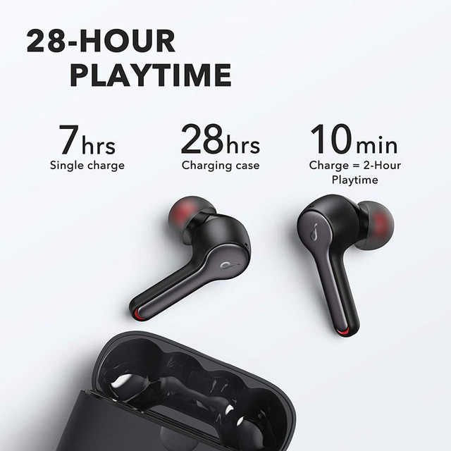 Anker Soundcore Liberty Air 2 TWS Bluetooth Earphones with 4 Mics Wireless Charging 5