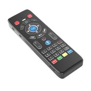 T16 + M голосовое дистанционное управление 2,4 ГГц беспроводная воздушная мышь гироскоп для Android TV BOX/Google TV (с микрофоном)