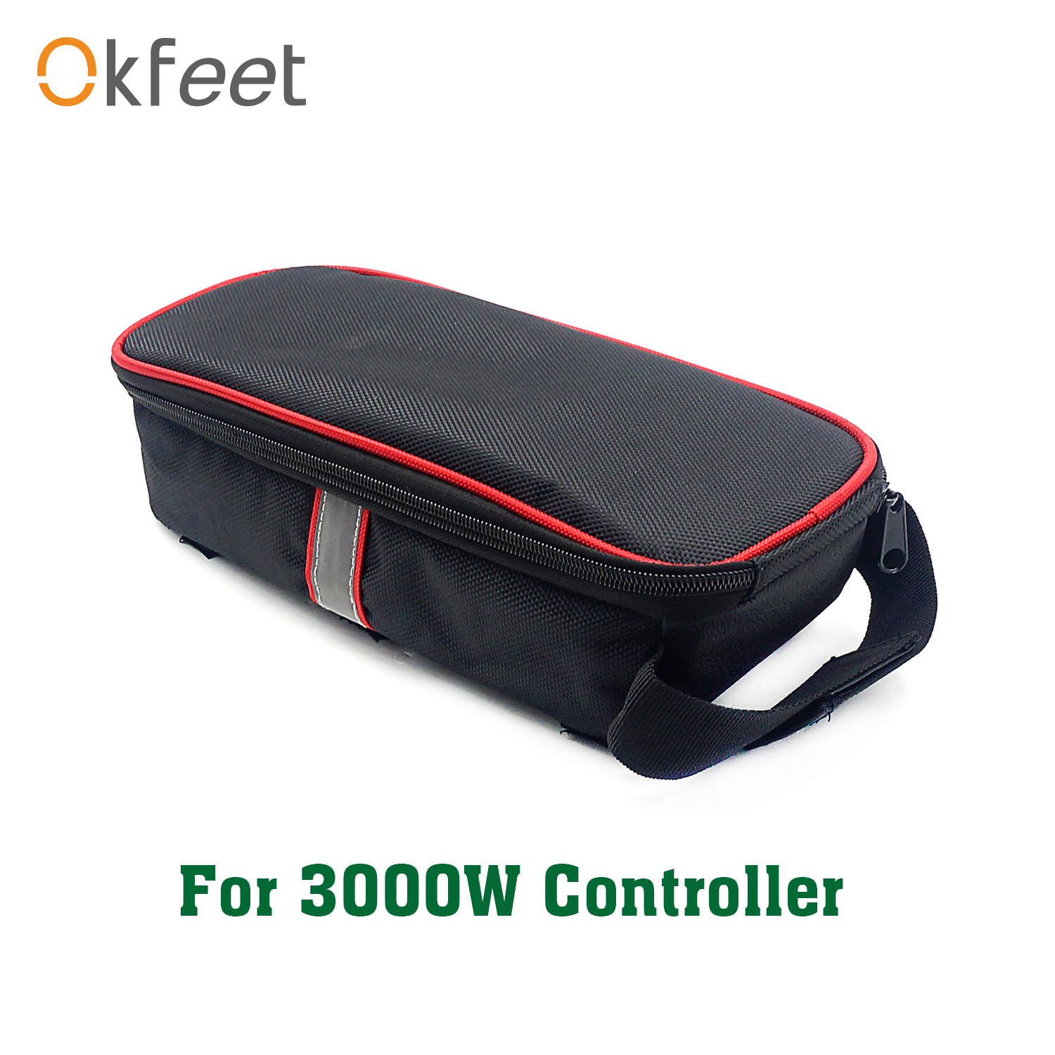 Okfeet Electric Bicycle Parts Ebike Big Controller Bag Box Container For 52V 72V 90V 60A 3000WController