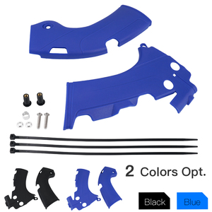 For Yamaha YZ250F YZ450F YZ450FX Frame Guards Covers Protectors YZ250F YZ450FX 2019 2020 YZ450F Motorcycle Frame Protectors