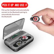 2019 Bluetooth 5.0 Headset IPX5 Waterproof T10B TWS Wireless Earphone