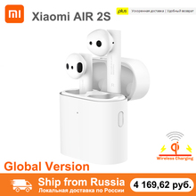 Xiaomi Airdots Pro 2s Wireless Earphone TWS Mi True Earbuds Air 2 s Wireless Stereo Control With Mic Wireless Charging for Sport
