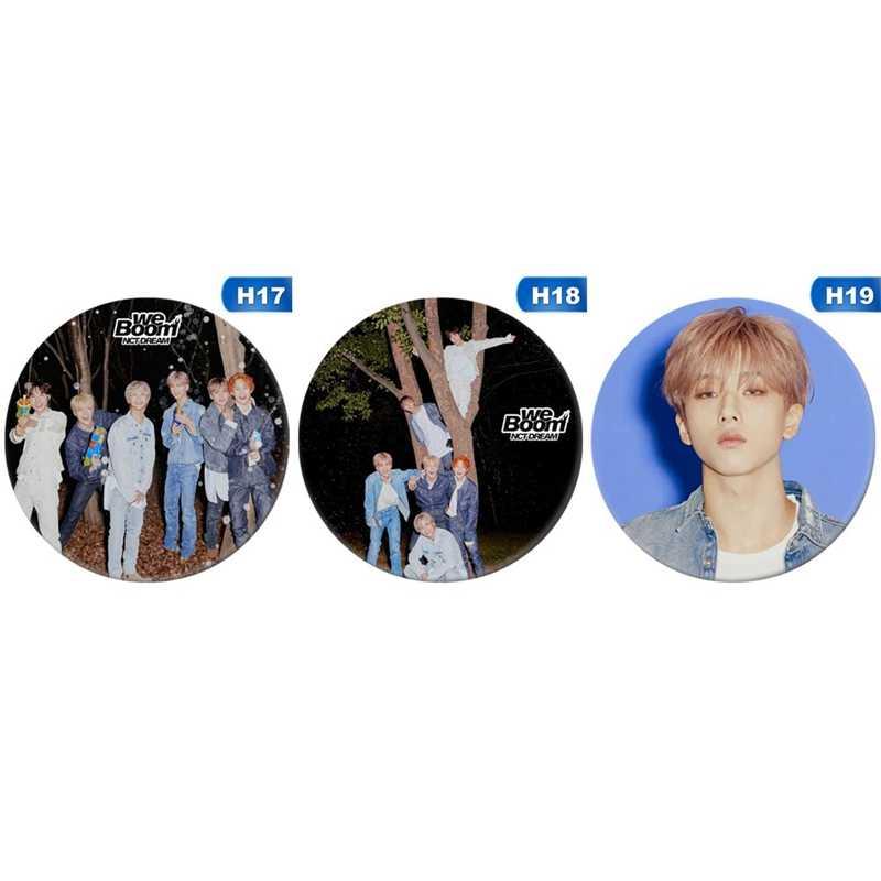 Korea Kpop NCT NCT127 Sentuh Album Bros Pin Lencana Aksesoris untuk Pakaian Topi Ransel Dekorasi