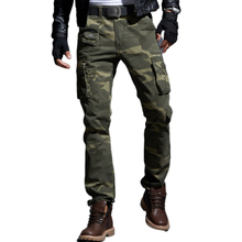 New Camo Cargo Pants Men Military Tactical Camouflage Pants
