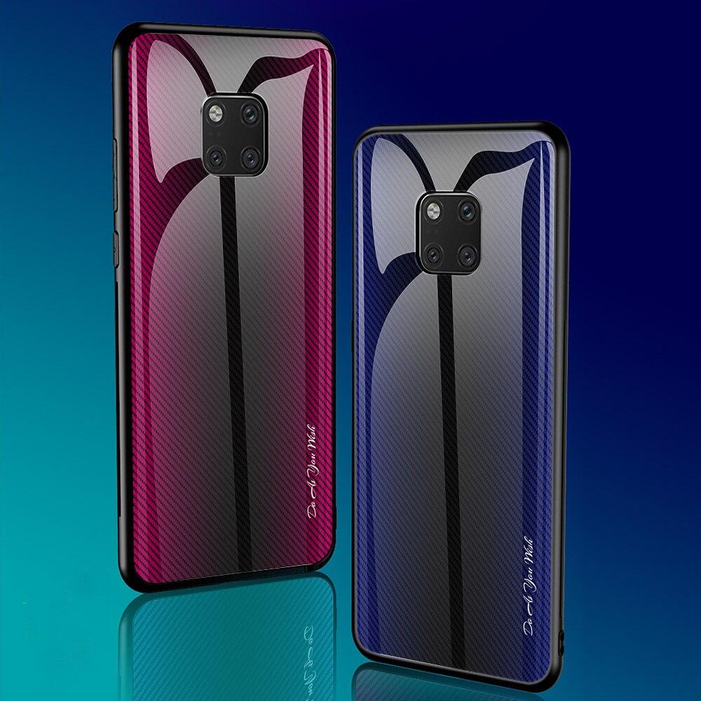 For Xiaomi Redmi Note 9S Case Luxury Hard Tempered glass Gradient protective back cover case for xiaomi redmi note 9 pro max 9s