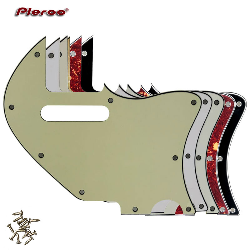 Pleroo Custom Guitar Parts - For US Tele Merle Haggard F Hole Thinline Guitar Pickguard Scratch Plate Replacement