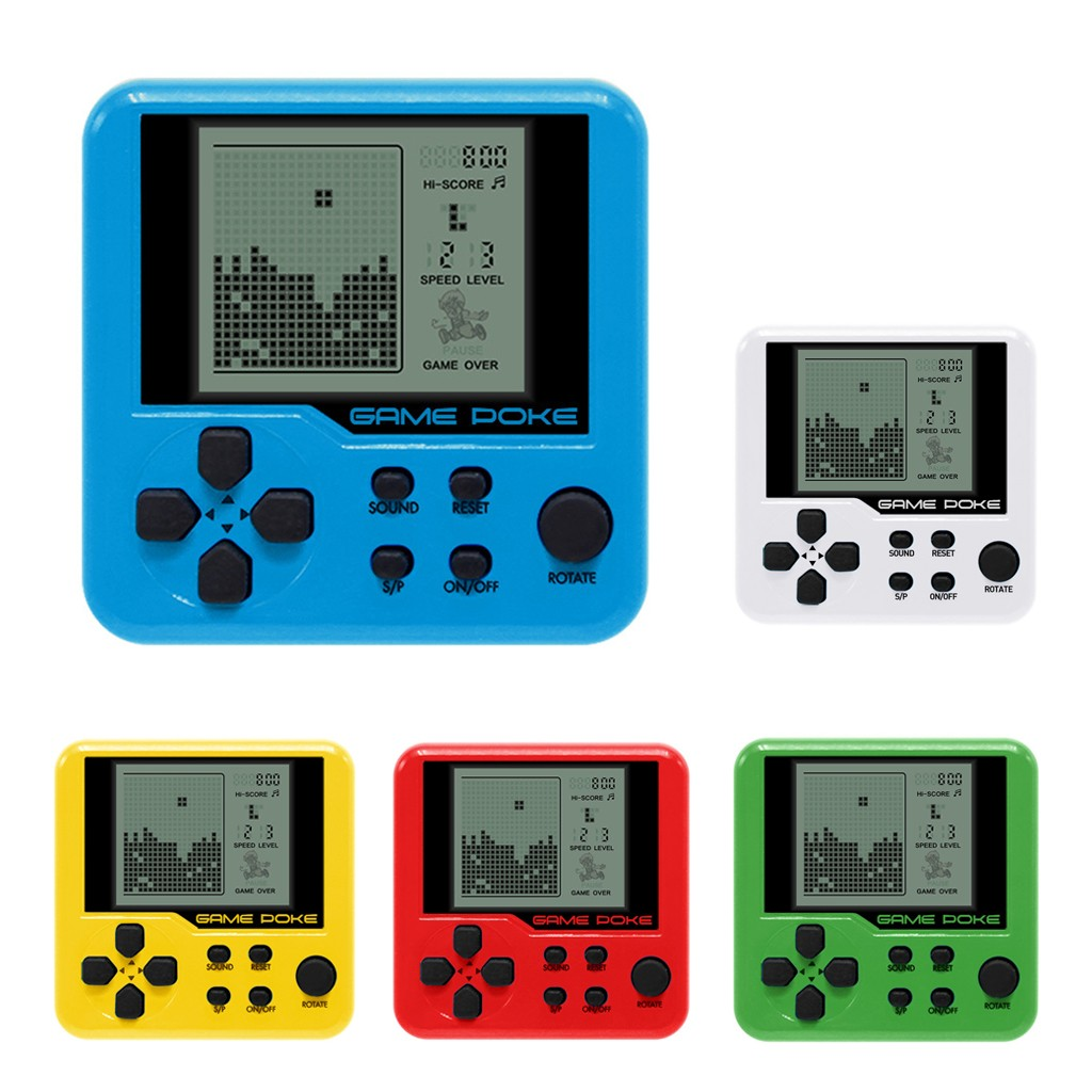 Mini Game Console Children Handheld Game Console Portable Mini Game Handheld Toys Yellow White Red Green Blue  P5