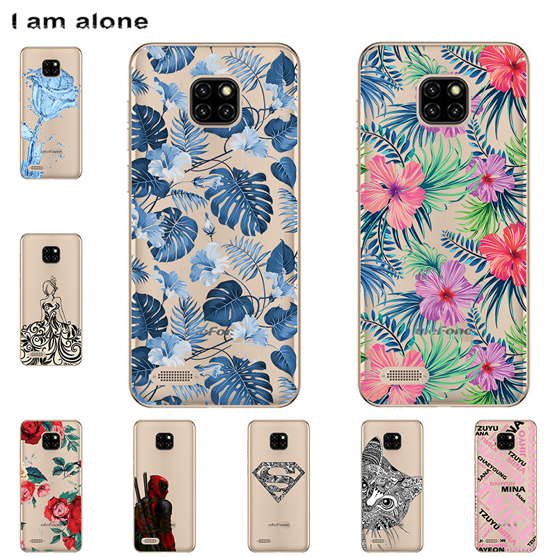 I am alone Phone Case For Ulefone Note 7 2019 6.1 inch Soft TPU Mobile Cellphone Patterned For Ulefone Note 7 Free Shipping