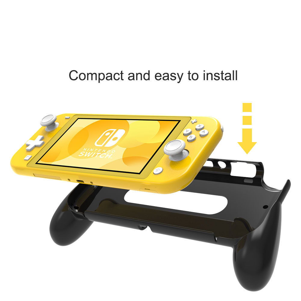 lowest price Nintend Switch Lite Mini Console Hand Grip Protection Case With Tempered screen Protector for Nintendo Switch Lite Accessories