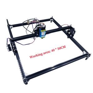 Image 3 - 40x50 laser engraver 0.5 1.5w DIY mini laser engraver for wood plastic leather stainless  steel etc laser cutter Marking plotter