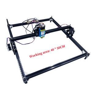Image 3 - 40x50 lazer gravür makinesi 0.5 1.5w DIY mini lazer gravür ahşap plastik deri paslanmaz çelik vb lazer kesici işaretleme plotter