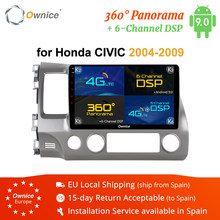 "Ownice K1 K2 K3 K5 K6 Android 9.0 2G RAM 10.1"" Car DVD GPS For Honda Civic 2004 - 2009 Car Radio Multimedia Stereo Player 4G LTE(China)"