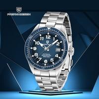 PAGANI DESIGN 2020 New Mens Watches Brand Luxury Watch Full Steel Automatic Mechanical Watch Men Fashion Waterproof Wristwatch