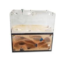 Acrylic Ant Farm Spliceable Ant Nest with Intelligent Temperature Control Concrete Ant House Anthill Pet Workshop 15*10*13.5cm