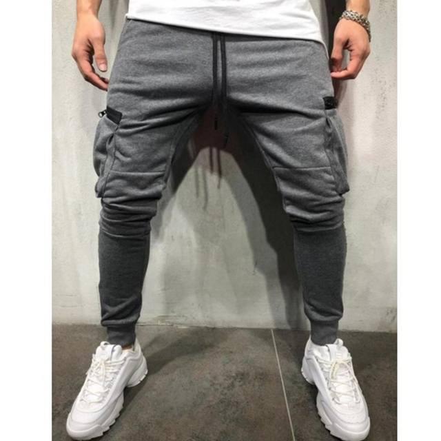 Men Hip-hop  Black Joggers Pants Summer 2020