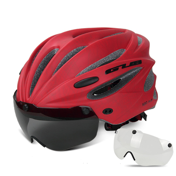 GUB K80 Cycling Helmet with Visor Magnetic Goggles Integrally-molded 58-62cm for Men Women MTB Road Bicycle  Bike Helmet 9