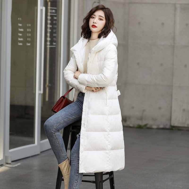 Winter Jacket Women Down Coat Female Thick Brand White Duck Down Jacket Womens Long Coats Warm Hooded Clothes Hiver 90160