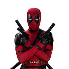 UWOWO Deadpool Cosplay Costume Wade Winston Wilson Bodysuit
