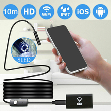 Endoscope Camera WIFI iPhone Waterproof 6 LED Wireless IP67 for Android PC APP Car-Repair
