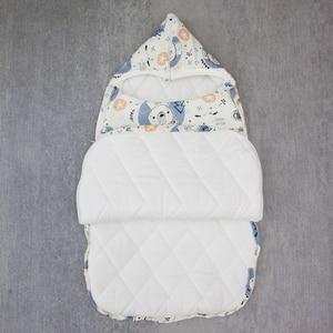 Image 3 - Saco de dormir do bebê cocoon para recém nascidos cobertor envelope sacos de dormir padrão dos desenhos animados novo bebê cocoon envelopes para recém nascidos