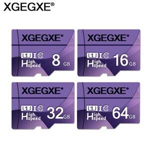 Memory Card 32GB 64GB High Speed T Flash Card 8GB 16GB Class 10 U1 UHS-I TF Card For Smartphone PC