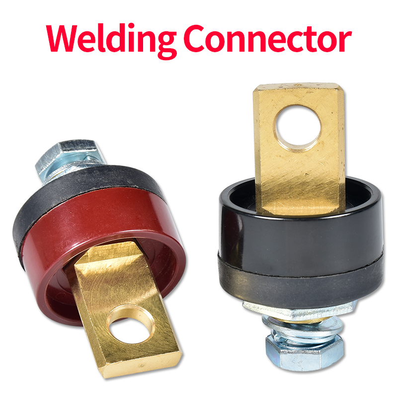 Front Plate Electroslag Pressure Welding Terminals Soldering Machine Quick Fitting Female Cable Connector Socket Adaptor