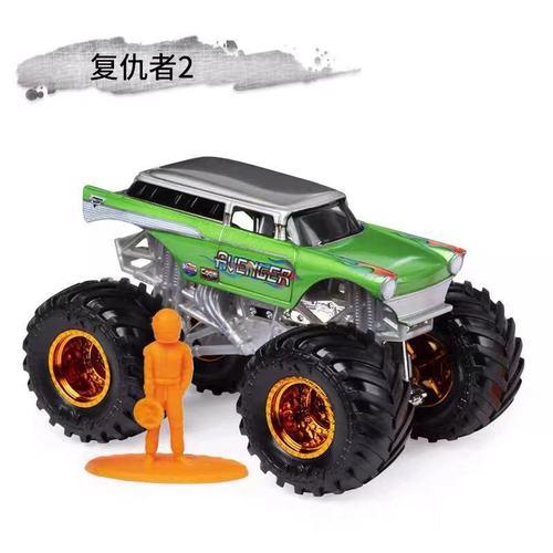 1: 64 оригинальные горячие колеса гигантские колеса Crazy Barbarism Монстр металлическая модель грузовика игрушки Hotwheels большая ножная машина детский подарок на день рождения - Цвет: f