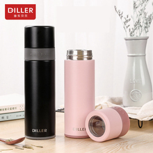 DILLER MLH8908 thermos Double Layer 304L Stainless Steel Thermos Thermos Cup Coffee Tea Milk Travel Cup Kettle