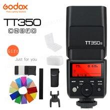 Đèn Flash Godox Mini Speedlite TT350C TT350N TT350S TT350F TT350O TT350P Camera Flash TTL HSS Cho Canon Nikon Sony Fuji Olympus Pentax