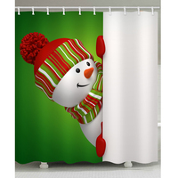 1pcs Shower Curtain 3