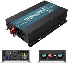 Inversor de onda sinusoidal pura de 2500W, potencia del inversor Solar de 24V a 220V, transformador de fuente de alimentación de 12V/36V/48V CC a 110V/120V/230V/240V AC