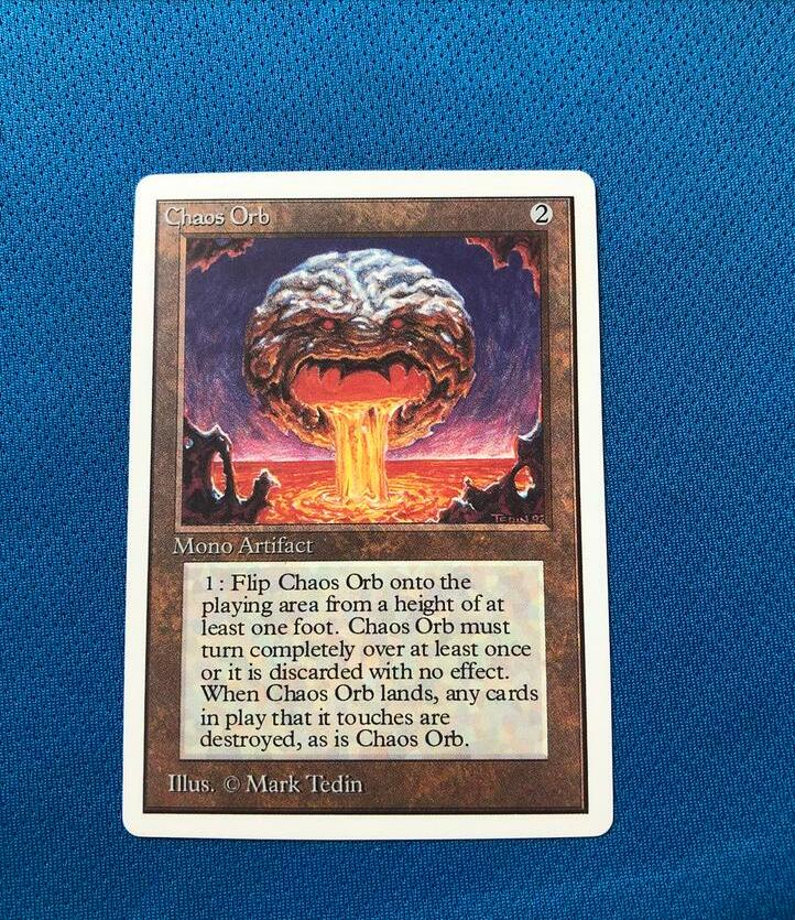 Chaos Orb Unlimited Edition 2ED Magician ProxyKing 8.0 VIP The Proxy Cards To Gathering Every Single Mg Card.