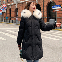 2019 Hot Sale Winter Jacket Women Padded Hooded Warm Thicken Long Female Coat Parka Chaqueta Mujer Invierno
