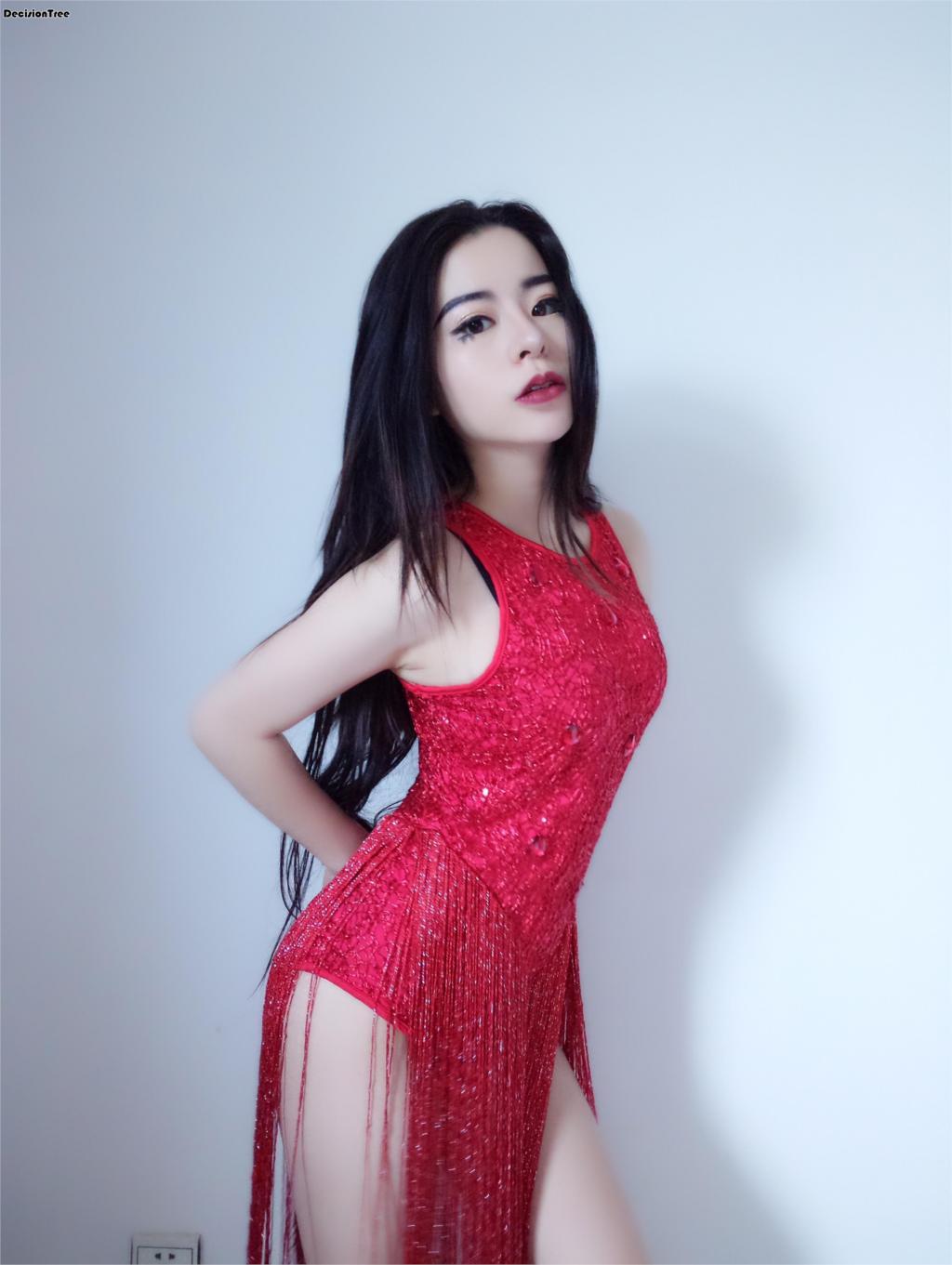 2020 Female Sexy Ds Dj Costumes Lead Dancer Nightclub Singer Clothing Jazz Performance Dance Costume Sexy Tassel Sparkling Dress