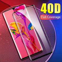 40D Tempered Protective Glass on For Huawei P30 P20 Lite Pro Full  Screen Protector For Huawei Mate 10 9 20 Lite Pro Glass Film цены