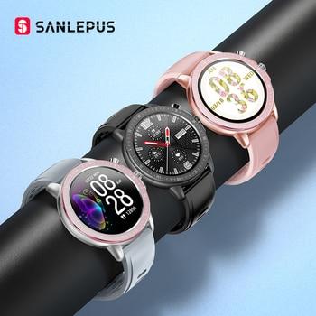 2020 SANLEPUS Global Version Smart Watch IP67 Waterproof Smartwatch Men Women Fitness Bracelet Band For Android iPhone xiaomi
