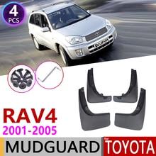 Auto Paraspruzzi per Toyota RAV4 RAV 4 XA20 2001 ~ 2005 Parafango Guard Mud Flap Splash Flaps Parafango Accessori 2002 2003 2004 2nd Gen