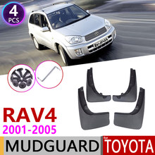 Mudflaps carro para Toyota RAV RAV4 4 XA20 2001 ~ 2005 Flaps Lamas Fender Mud Guard Flap Splash Acessórios 2002 2003 2004 2nd Gen