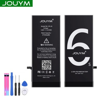 JOUYM Original Phone Battery For iPhone 6 6S 7 8 5S 5 SE 6 plus Replacement Quality Bateria For iPhone6 iPhone7 With Tools kit 1