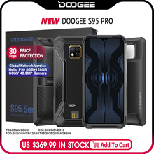 IP68/IP69K DOOGEE S95 Pro Modular Rugged Mobile Phone 6.3inc