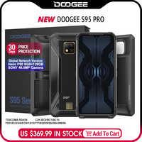 IP68/IP69K Doogee S95 Pro Modulare Rugged Mobile Phone Display da 6.3 Pollici 5150 Mah Helio P90 Octa Core 8 gb 128 Gb 48MP Cam Android 9