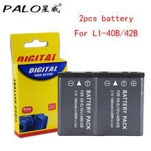 PALO – batterie de caméra 1800mAh, pour OLYMPUS U700 U710 FE230 FE340 FE290 FE360, EN EL10 LI42B L 42B LI40B 40B