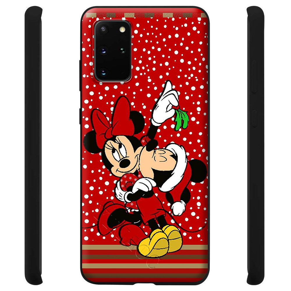 Christmas Mickey Minnie Case For Samsung Galaxy A7 A8 A9 A10 A20 A30 A40 A50 A70 S10 Plus S20 Ultra Note 10 Lite A51 A71 A81 A91